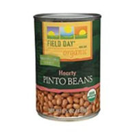 Field Day 30450 12 x 15oz Organic Pinto Beans
