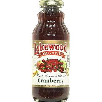 Lakewood Organic Cranberry Blend Juice 12. 5 Oz - -Pack of 12