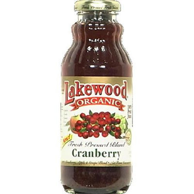 Lakewood Organic Cranberry Blend Juice 12. 5 Oz - -Pack of 12