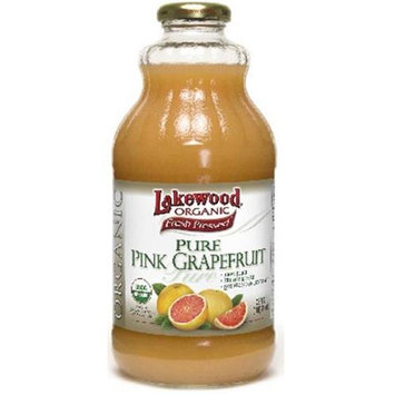Lakewood BG15044 Lakewood Pink Grapfruit Juice - 12x32OZ