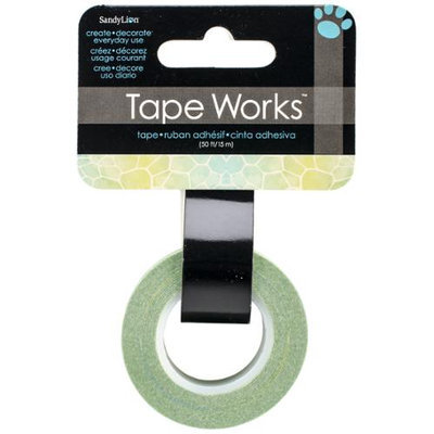 Sandy Lion Sandylion SC9-630 Tape Works Tape .625 in. X50ft-Blue-Green Giraffe