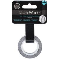 Sandy Lion Sandylion SCG-6010 Tape Works Glitter Tape .5 in. X30-Zebra