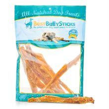 Best Bully's Jumbo Beef Backstrap for Dogs - 10 Pack