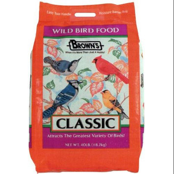 Fm Brown's Fm Browns BBN40990 Wild Bird Classic Value Blend Wb Food 40Lb