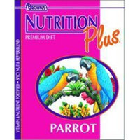 Brown s Nutrition Plus Premium Parrot Food (18-lb bag)