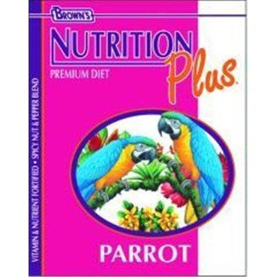 Brown s Nutrition Plus Premium Parrot Food (18-lb bag)