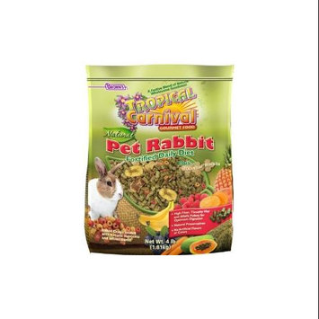 F.m. Brown Pet F.m. Browns Pet - Tropical Carnival Natural Rabbit 4 Pound - 44894-7