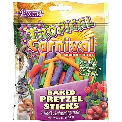 Fm Brown's Tropical Carnival Baked Pretzel Sticks 2 Oz