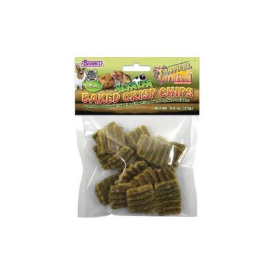 F.m. Brown Pet F.m. Browns Pet - Tropical Carnival Alfalfa Baked Crisp Chips. 8 Ounce