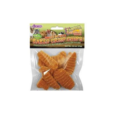F.m. Brown Pet Brown's Tropical Carnival Sweet Potato Baked Crisp Chips, .8 oz.