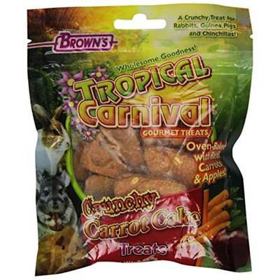 Fm Brown's Crunchy Carrot Cake - Small Animal Treat - 2.75 oz.