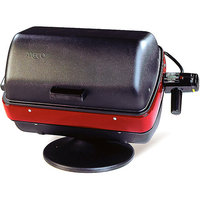 Meco 9300 Deluxe Tabletop Electric Grill, Satin Black