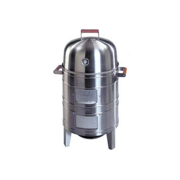 Aussie Stainless Steel Charcoal Smoker by Meco