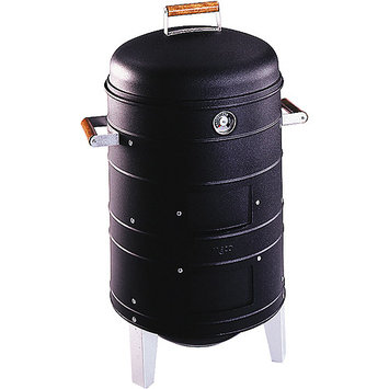 Meco Double Grid Charcoal Water Smoker