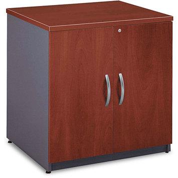 Bush WC24496A Series C Two-Door Storage Cabinet Hansen Cherry