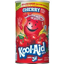 Kool-Aid Cherry Mix (makes 34 qts.)