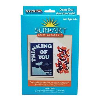 Tedcotoys Kids Preschool Daycare Sunart Greeting Card Kit