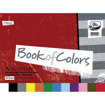 MEAD PRODUCTS 48 Sheet Academie Book Of Colors Construction Paper