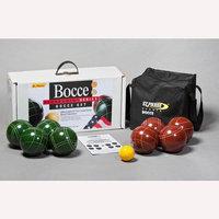 Sport Craft St. Pierre Zippered Nylon Bag Tournament Bocce Ball Set