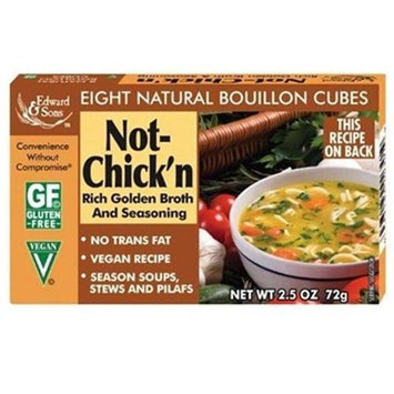 Edward & Sons BG12569 Edward & Sons No Chicken Boulln Lowsod - 12x2.5OZ