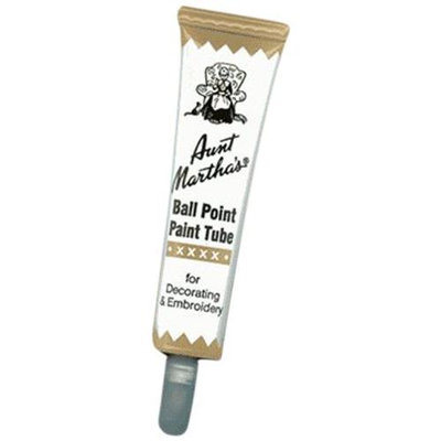 Aunt Martha's Ballpoint Paint Tubes 1 Ounce-Tan