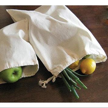 Aunt Martha's Reusable Canvas Produce Bag 13 X17 -Natural