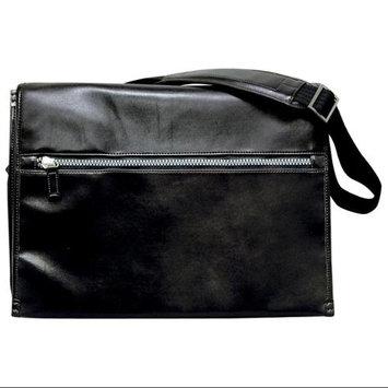 Buxton Mens Messenger Travel Bag with Glazed Finish