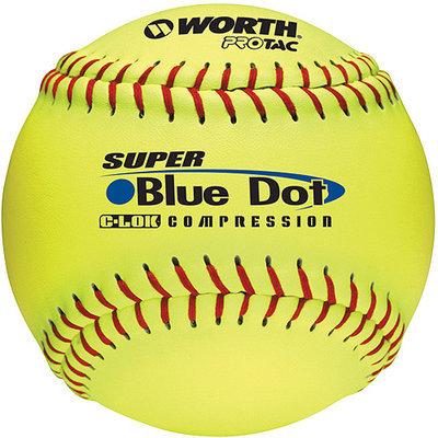 Worth Sports Yellow PRO TAC Ball - 1 dz, 12 in.