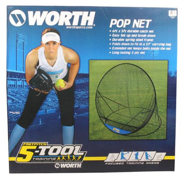 Worth Sports Worth 5-Tool Pop-Up Net
