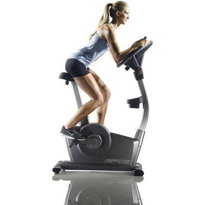 Epic A17U Upright Exercise Bike, Refurbished