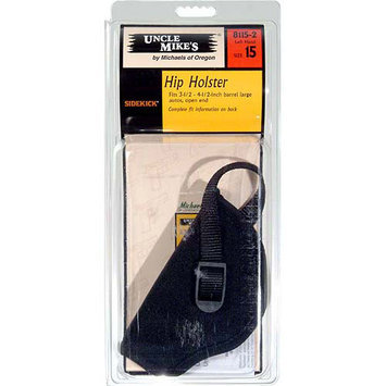 Uncle Mike's Holster, Left, Black, Size 15