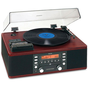 Teac America CD Recorder with Cassette and