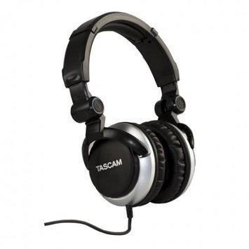 Tascam TH-2000 Foldable Headphones w/ Travel Bag / Silver