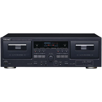 Teac W-890RMK2-BK Dual Cassette Player/Recorder