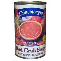 Chincoteague Seafood 90944 Vegetable Red Crab Soup