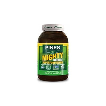 Pines International Mighty Greens Superfood Blend Powder 8 oz