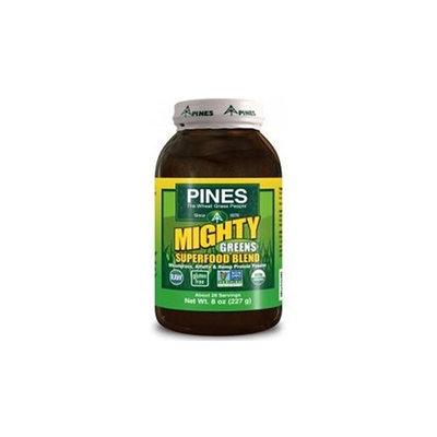 Pines International Mighty Greens Superfood Blend Powder 8 oz
