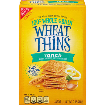 Nabisco Wheat Thins Ranch Crackers