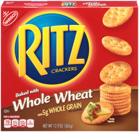 Nabisco RITZ Whole Wheat Crackers