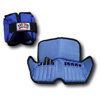 All Pro 5lb Adjustable Ankle Weights (pair)