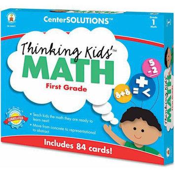 Carson-Dellosa Publishing CenterSOLUTIONS Thinking Kids Math Cards, Grade 1 Level