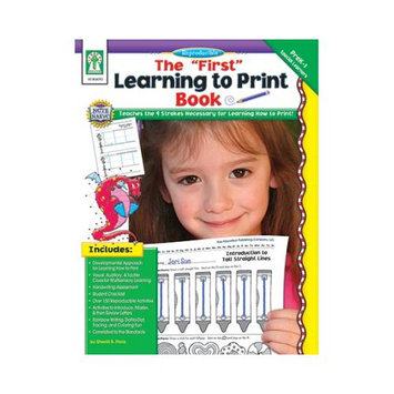 Carson-dellosa Publishing THE FIRST LEARNING TO PRINT BOOK GR