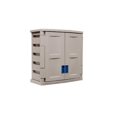 Taylor Gifts Suncast Storage Trends Utility 2-Door Wall Cabinet