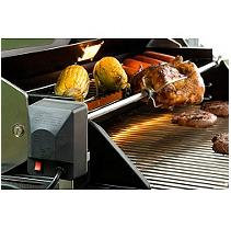 KitchenAid 38-in Stainless Steel Grill Rotisserie 790-0007A