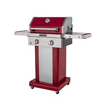 KitchenAid Grills 2-Burner Propane Gas Grill in Red with Grill Cover Red/Orange 720-0891R