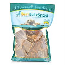 Best Bully's Dried Bovine Gullet Cookies for Dogs - 5 lb. Bag
