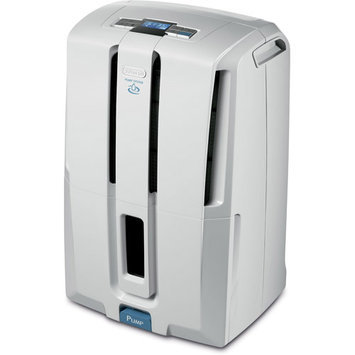 DeLonghi DD45PE Energy Star 45-pint Dehumidifier with Patented Pump