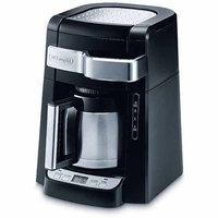 DeLonghi DCF2210TTC 10-Cup Black Drip Coffee Maker