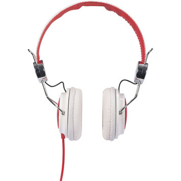 Audiovox HP5041 Rca Hp5041 White/red Ampz Headphone Full Size Nickel Plated