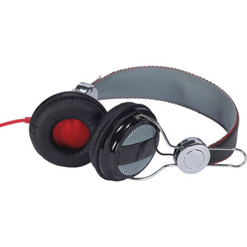 Audiovox HP5042 Rca Hp5042 Blk/gray Ampz Headphone Full Size Nickel Plated